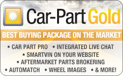 The Car-Part Gold Package: Messaging, Search Notification, Enhancements and MORE
